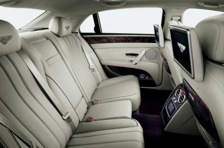 Bentley Flying Spur 2: интерьер