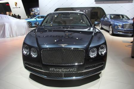 Bentley Flying Spur W12 на ММАС-2014