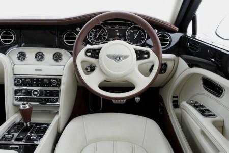 Bentley Mulsanne: салон