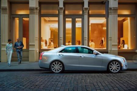 Cadillac ATS 2015: экстерьер