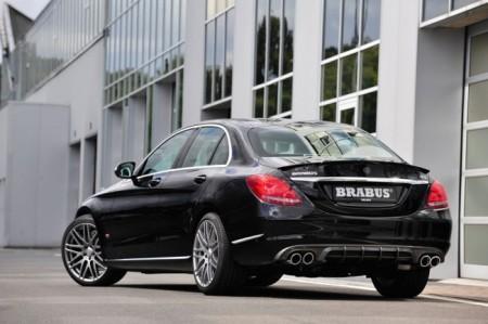 Mercedes C-Class W205 Brabus: экстерьер