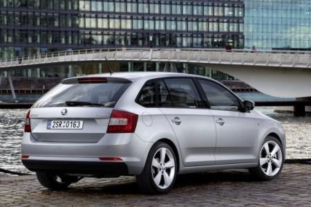 Skoda Rapid Spaceback: вид сзади