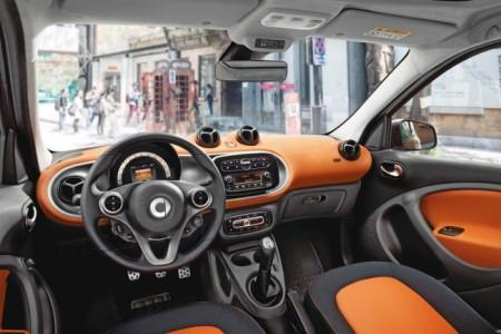 Smart ForFour 2: салон