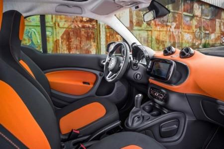 Smart ForTwo 3: салон