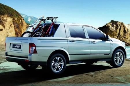 SsangYong Actyon Sports: пикап