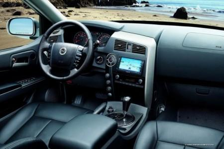 SsangYong Actyon Sports: салон