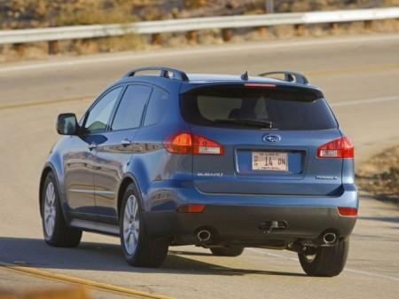 Subaru B9 Tribeca: вид сзади