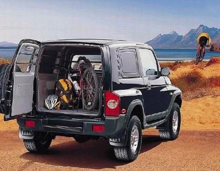 TagAZ Tager: багажник