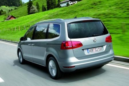 Volkswagen Sharan 2: вид сзади