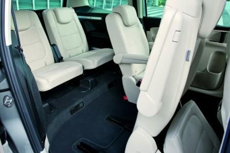 Volkswagen Sharan 2: интерьер