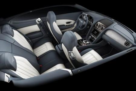 Бентли Континенталь GT V8: интерьер