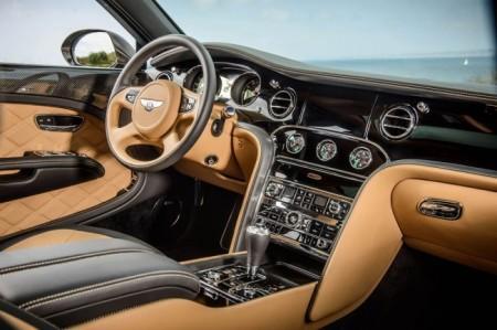 Bentley Mulsanne Speed: салон