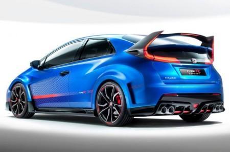 Honda Civic Type R задний спойлер