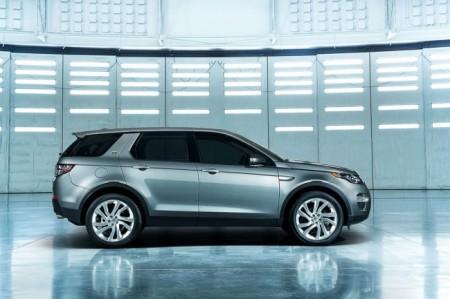Land Rover Discovery Sport 2015: вид сбоку