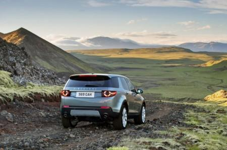 Land Rover Discovery Sport: вид сзади