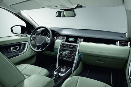 Land Rover Discovery Sport: салон