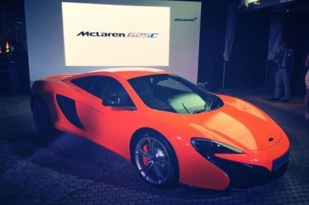 McLaren 625C внешний вид