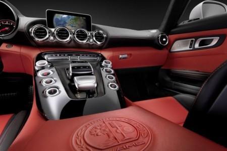 Mercedes-AMG GT: интерьер