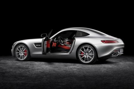 Mercedes-AMG GT 2015 - новые двери