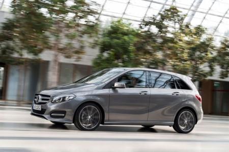 Mercedes B-Class 2015: экстерьер