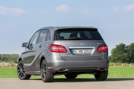 Mercedes B-Class (W246): вид сзади