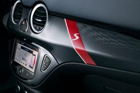 Opel Adam S передняя панель