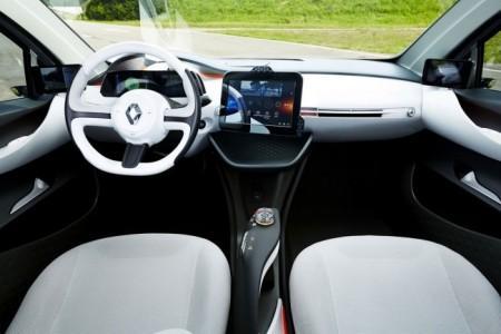 Renault Eolab: салон