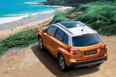 Suzuki Vitara 2015 в новом кузове