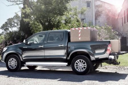 Toyota Hulix 7: вид сбоку