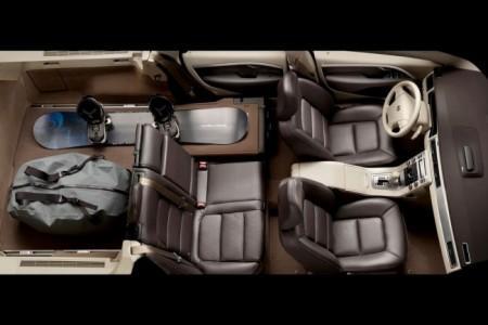Volvo XC70 3: интерьер