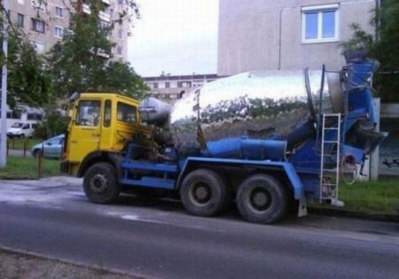 Диско-цементовоз