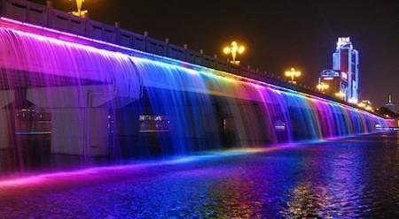 Мост Банпо (или Фонтан Лунная Радуга)