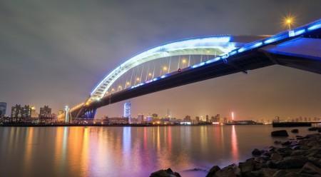 Мост Лупу, Китай