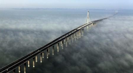 Мост Циндао, Китай