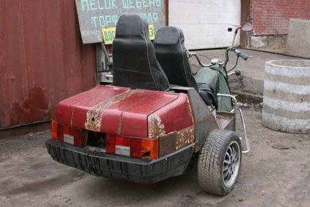 Трёхколёсный ВАЗ-21099