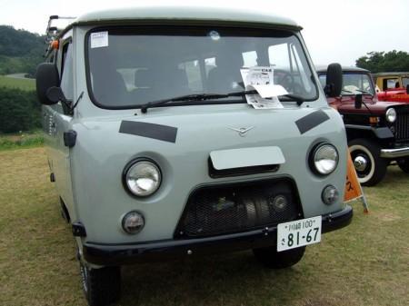 УАЗы в Японии?