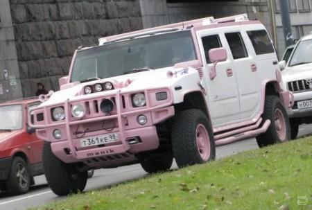 Hummer - розовая мечта