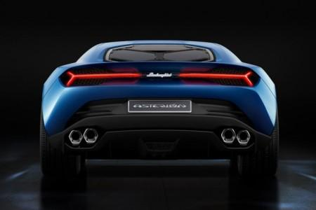 Lamborghini Asterion: вид сзади