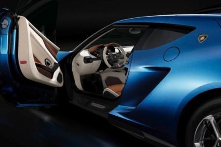 Lamborghini Asterion: интерьер