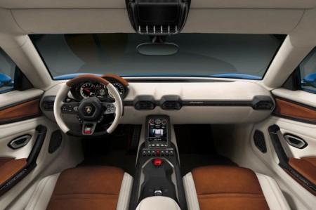 Lamborghini Asterion: салон