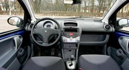 Peugeot 107 автомат