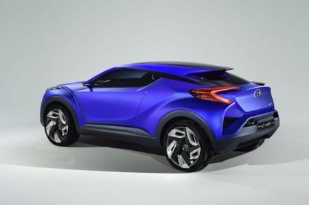 Toyota CH-R Concept: экстерьер