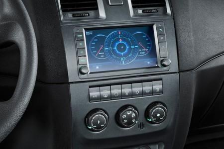 УАЗ Патриот 2015 центральная консоль