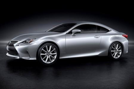 новое купе Lexus RC