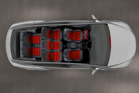 семиместный Tesla Model X