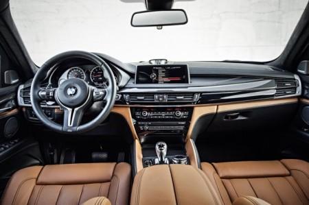 BMW X6 M 2015-2016 салон