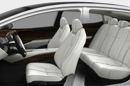 Honda FCV интерьер