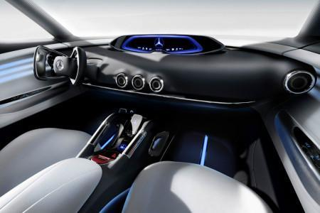 Mercedes Vision G-Code салон