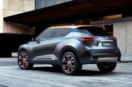 Nissan Kicks Concept экстерьер
