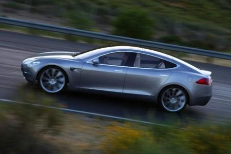 Tesla Model S экстерьер